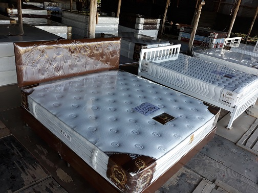 Furniture store mattress